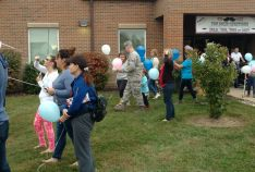 Infant Loss Awarness Balloon Release 10/ 2016